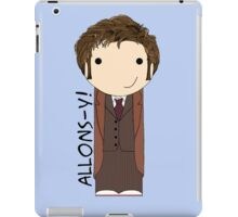 Tenth Doctor kokeshi doll iPad Case/Skin