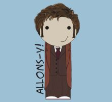 Tenth Doctor kokeshi doll Kids Clothes