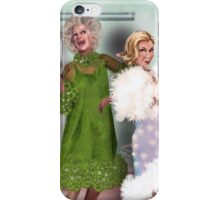 Final Curtain: Shower Curtain iPhone Case/Skin