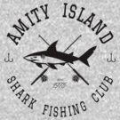 Amity Island Shark Fishing Club by AngryMongo