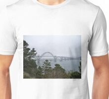 Yaquina Bay Bridge Unisex T-Shirt