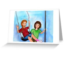 Let's Swing! Greeting Card