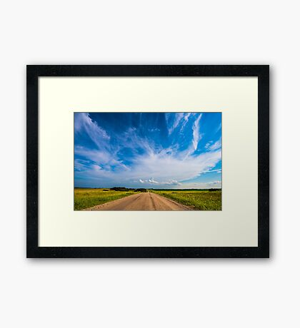 Country Roads III Framed Print