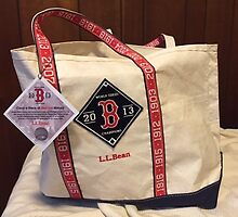 Red Sox Tote Bag by grichuate