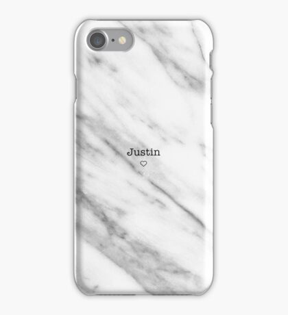 Justin iPhone Case/Skin