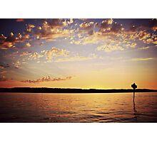 Mukilteo Sunset Photographic Print