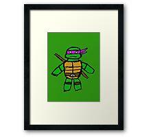TMNT - Donatello Framed Print