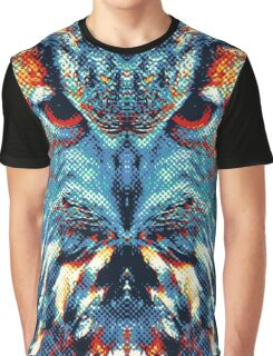 Owl - Colorful Animals Graphic T-Shirt