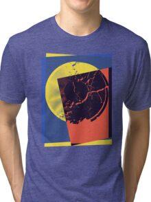 Pop Art Record Shattered Tri-blend T-Shirt