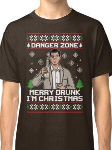 Archer-Danger Zone TV Christmas. Classic T-Shirt