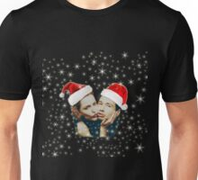 Gillian and David Christmas red Unisex T-Shirt