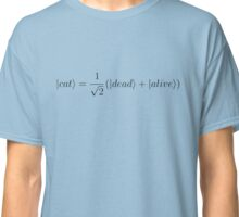 Schrödinger's cat - Black Classic T-Shirt