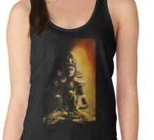 Abhaya Mudra (Fearless Seal) wisdom and protection  Women's Tank Top