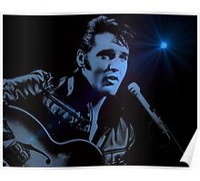 The KING Rocks On Poster