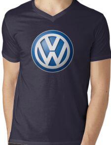 Volkswagon VW LOGO Mens V-Neck T-Shirt
