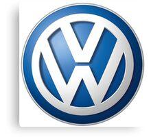 Volkswagon VW LOGO Canvas Print