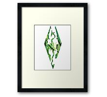 Skyrim in the jungle Framed Print