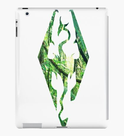 Skyrim in the jungle iPad Case/Skin