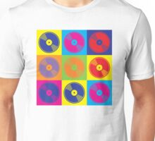 Pop Art Vinyl Records Unisex T-Shirt