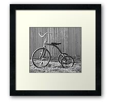 Tricycle...... Framed Print