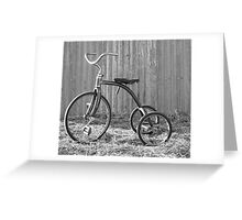 Tricycle...... Greeting Card