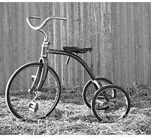 Tricycle...... Photographic Print