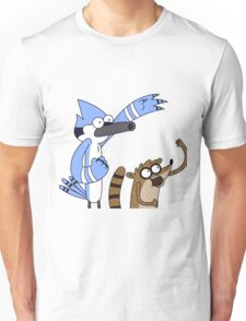 Mordecai & Rigby - Regular Show Unisex T-Shirt