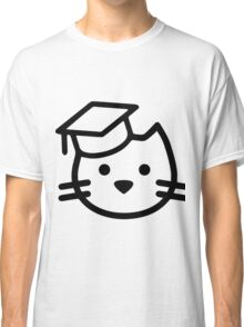 Cat with hat Classic T-Shirt