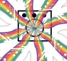 Rainbow Speaker Sticker