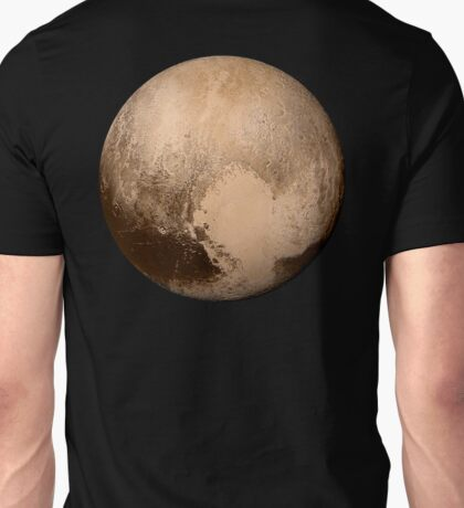 PLUTO, NEW HORIZONS, July 14, 2015, Planet, Space, Solar System Unisex T-Shirt
