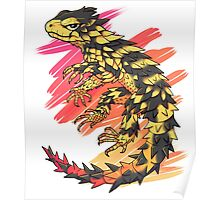 Smaug giganteus- red N yellow Poster