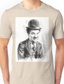 Charlie Chaplin portrait Unisex T-Shirt