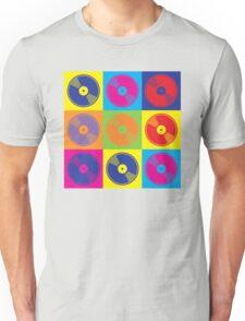 Pop Art Vinyl Records 2 Unisex T-Shirt