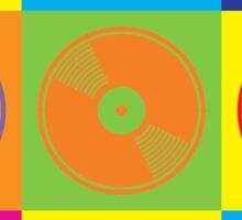 Pop Art Vinyl Records 2 Sticker