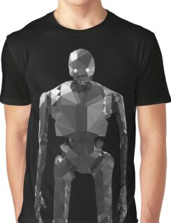 Star Wars K-2SO K2S0 Rogue One Low Poly Graphic T-Shirt