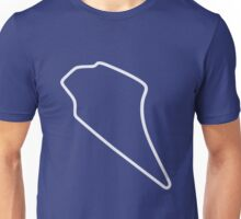 Knockhill Racing Circuit [outline] Unisex T-Shirt