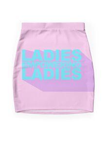 Ladies Empowering Ladies 3D Mini Skirt