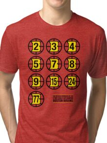 Retired Numbers - Boston Bruins Tri-blend T-Shirt