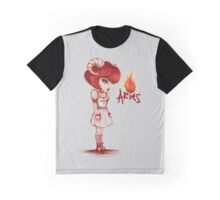 Aries Girl - Fire Star Signs   Graphic T-Shirt