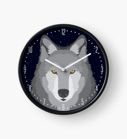 Wolf Head Design Clock
