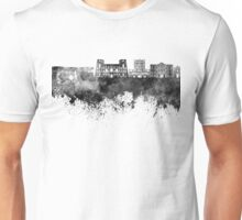 Tarento skyline in black watercolor Unisex T-Shirt
