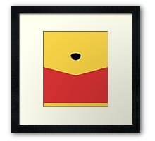 Rumbly in my Tummy Framed Print