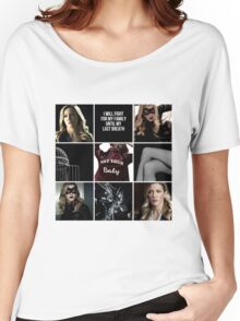 Laurel Lance/Black Canary aesthetic Women's Relaxed Fit T-Shirt