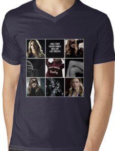 Laurel Lance/Black Canary aesthetic Mens V-Neck T-Shirt