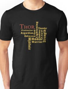 Who is Thor? Unisex T-Shirt