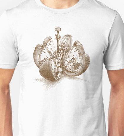 Steampunk Orange Unisex T-Shirt