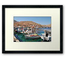 Halki island, Greece Framed Print