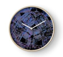 March Of The Red Demigods - A Study in Blue. Clock