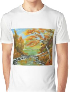 Still Waters Graphic T-Shirt