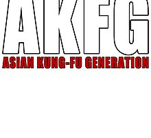 AKFG Asian Kung-Fu Generation by REIWYN